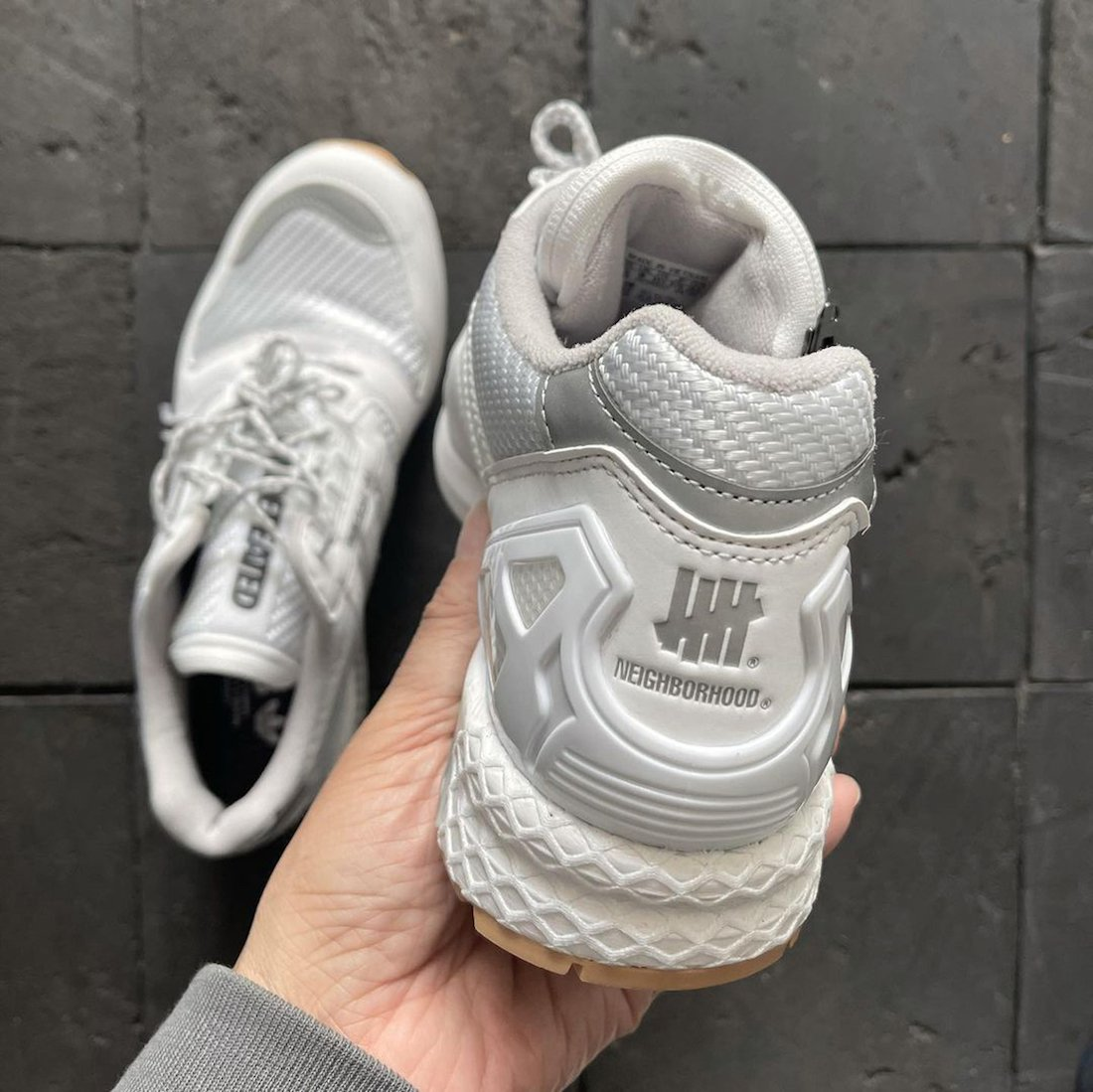 Neighborhood Undefeated adidas ZX 8000 White Release Date Info