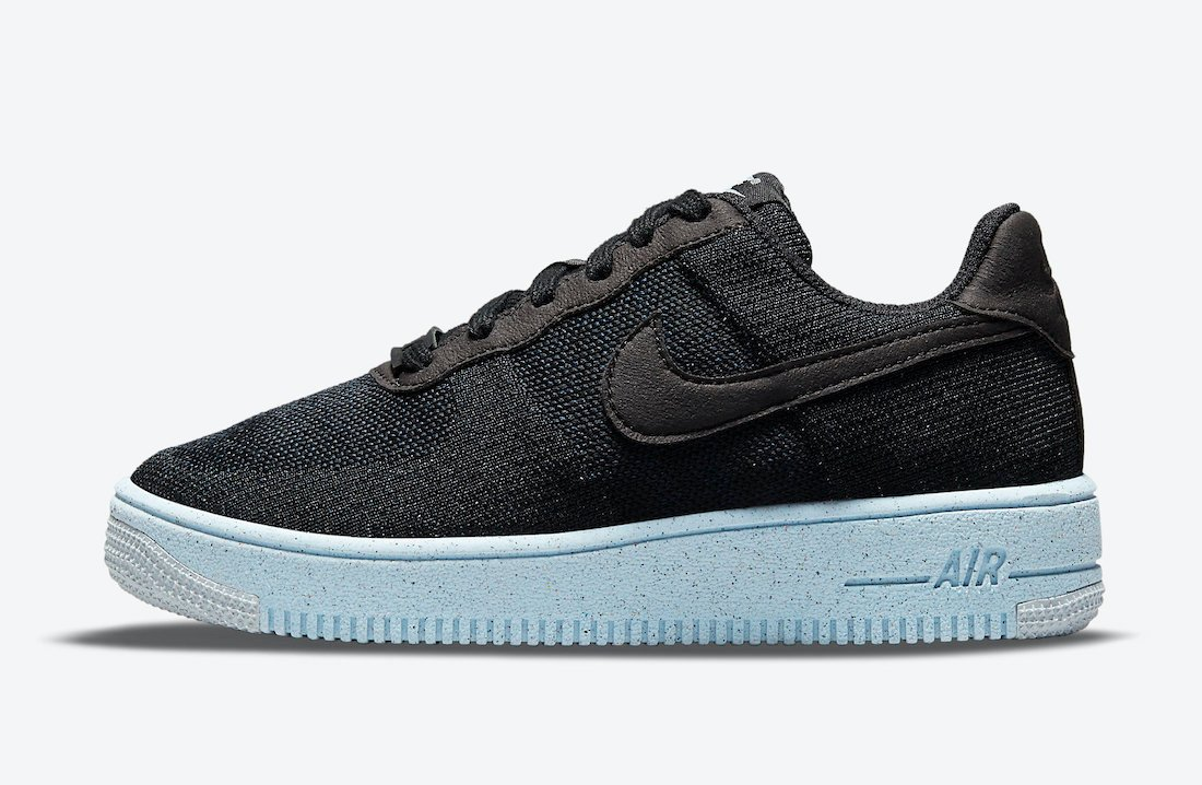 Nike Air Force 1 Crater Flyknit GS DC4831-001 Release Date Info
