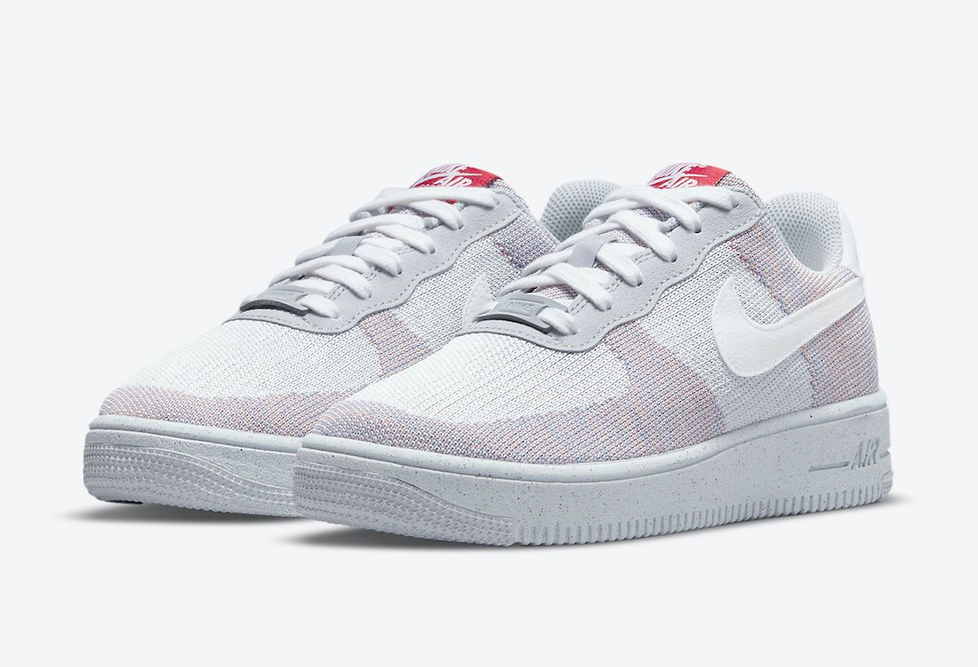 Nike Air Force 1 Crater Flyknit Wolf Grey DH3375-002 Release Date Info