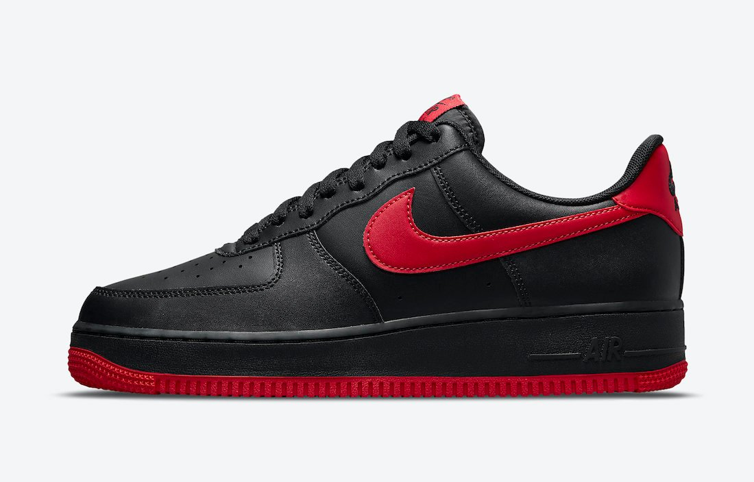 Nike Air Force 1 Low Black Red DC2911-001 Release Date Info