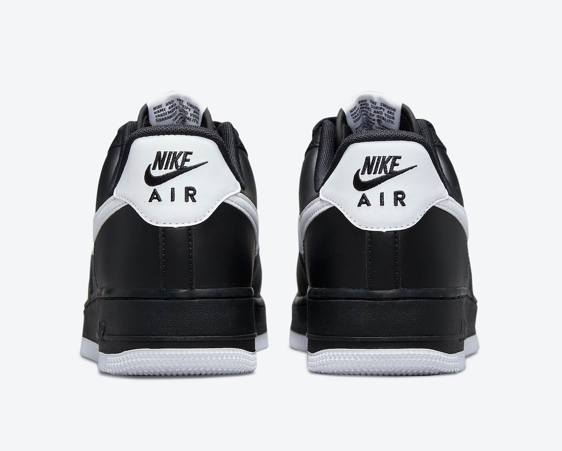 Nike Air Force 1 Low Black White DC2911-002 Release Date Info