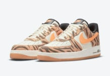 Nike Air Force 1 Low Daktari Stripes DJ6192-100 Release Date Info