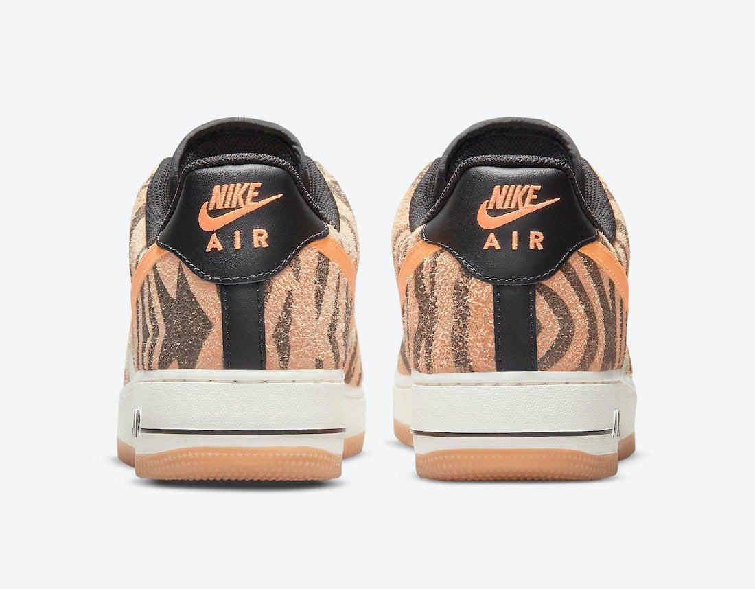 Nike Air Force 1 Low Daktari Stripes DJ6192-100 Release Date Info