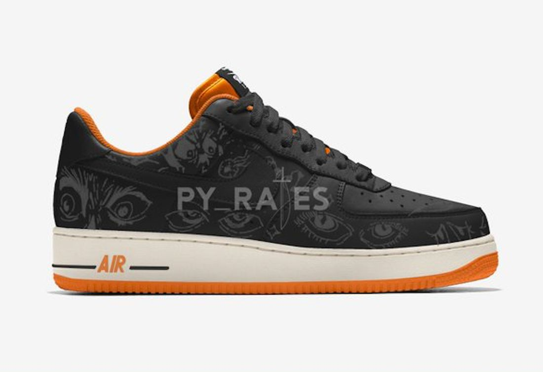 Nike Air Force 1 Low Halloween 2021 Release Date Info