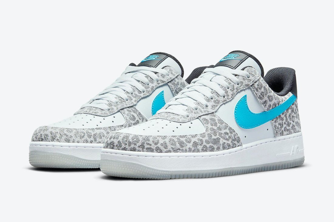 The Nike Air Force 1 Low Releasing with Leopard Print