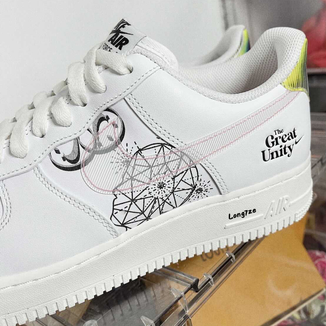 Nike Air Force 1 Low The Great Unity Release Date Info