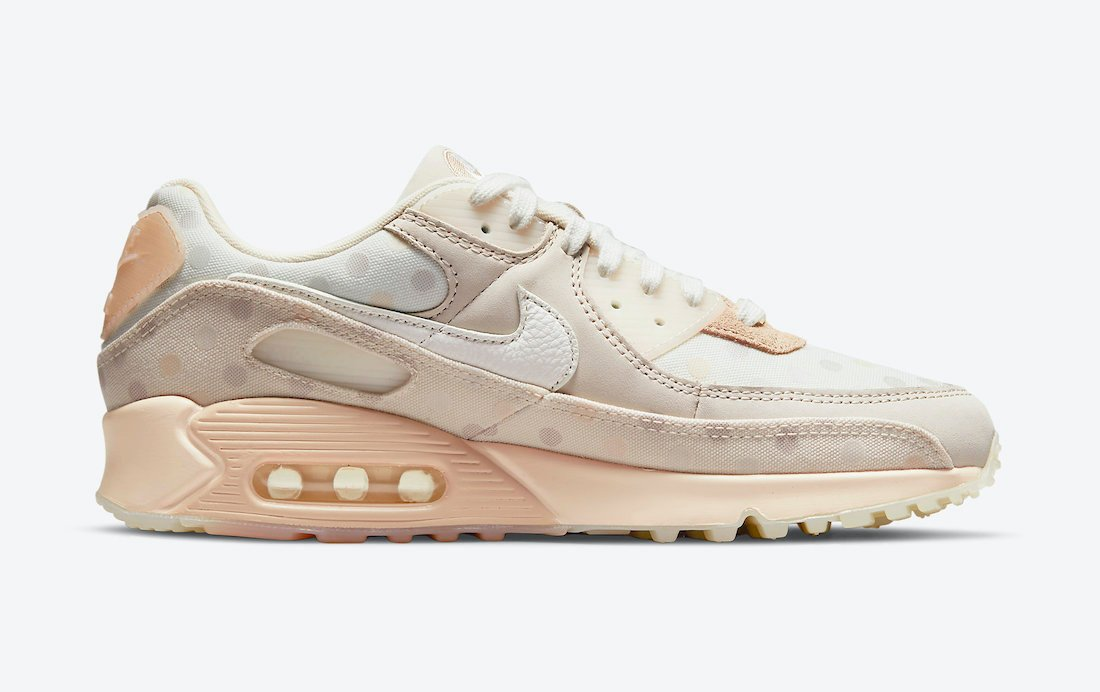 Nike Air Max 90 Shimmer Sail Desert Sand Pale Ivory CZ1929-200 Release Date Info