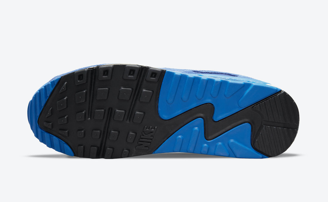 Nike Air Max 90 Signal Blue First Use DB0636-400 Release Date Info