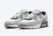 Nike Air Max 90 Summit White Grey Fog Black CZ1929-100 Release Date Info