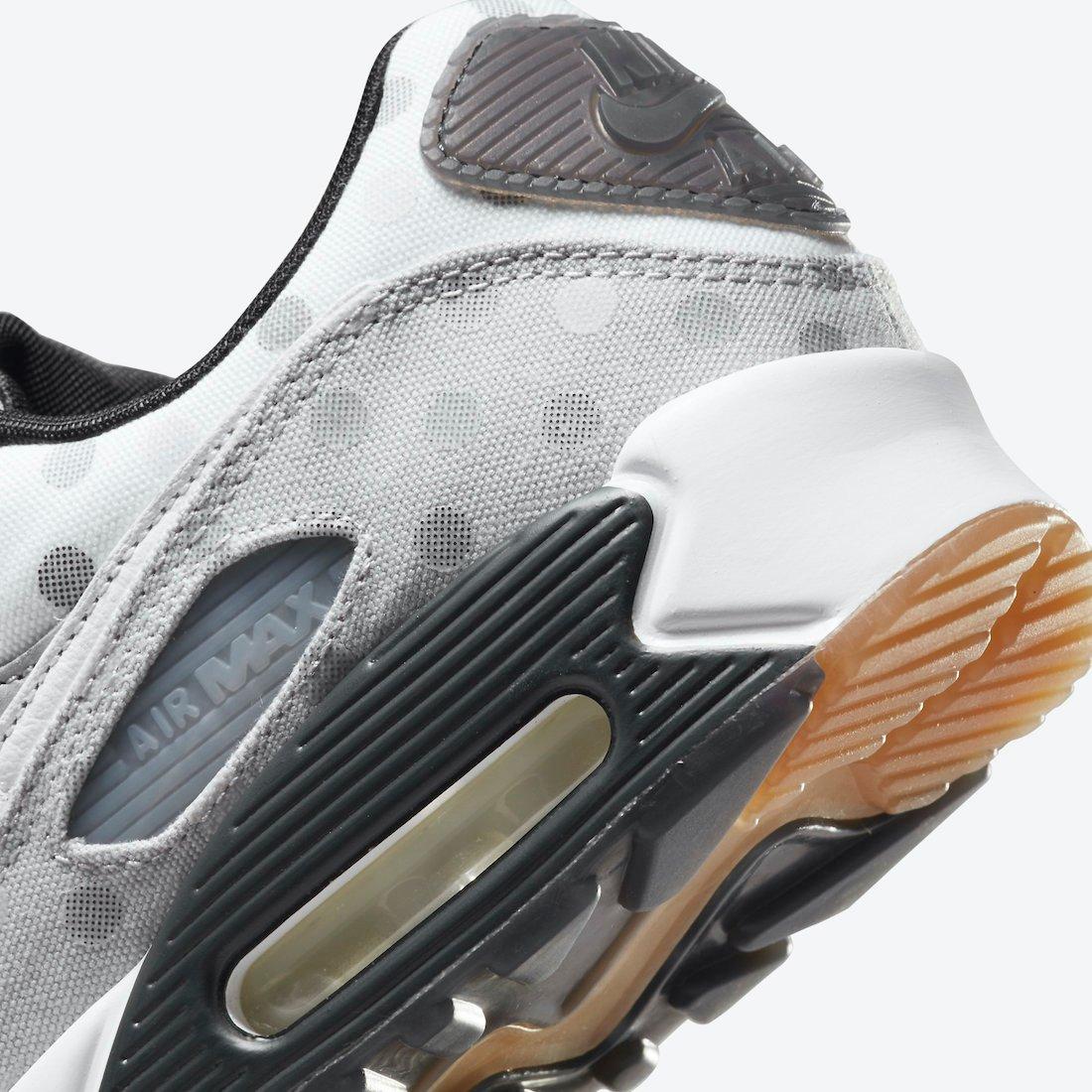 Nike Air Max 90 Summit White Grey Fog Black CZ1929-100 Release Date Info