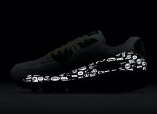 Nike Air Max 90 White Volt Black DB0625-100 Release Date Info