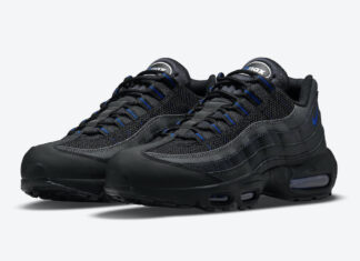 Nike Air Max 95 Black Royal DM9104-001 Release Date Info