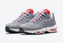 Nike Air Max 95 Grey Navy Crimson DB0250-001 Release Date Info