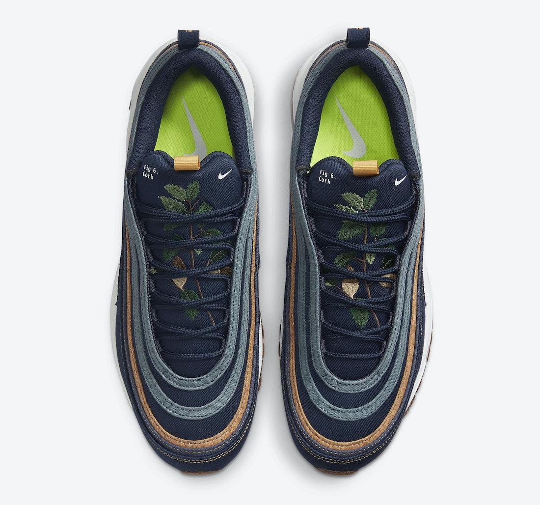 Nike Air Max 97 Cork Obsidian DC3986-300 Release Date Info