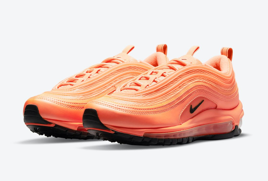Nike Air Max 97 Orange Black DM8338-800 Release Date Info
