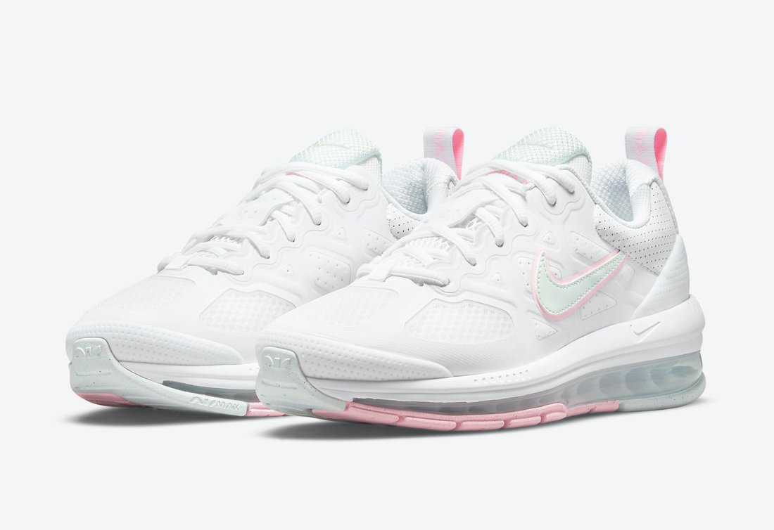 Nike Air Max Genome WMNS White Barely Green Arctic Punch DJ1547-100 Release Date Info