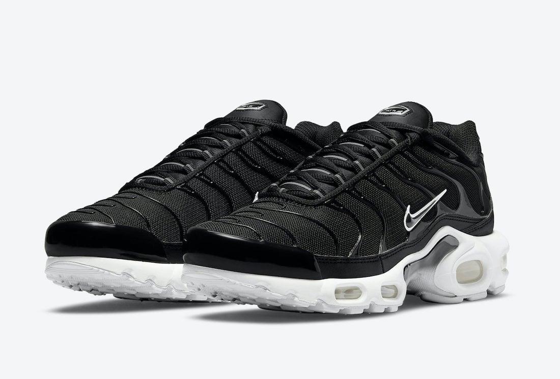 Nike Air Max Plus Black White DM2362-001 Release Date Info