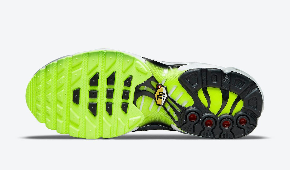 Nike Air Max Plus GS White Grey Volt CD0609-015 Release Date Info