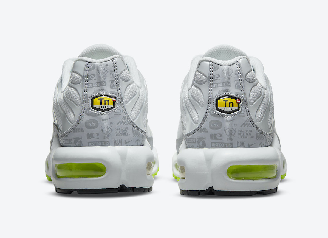 Nike Air Max Plus Reflective Logos DB0682-002 Release Date Info