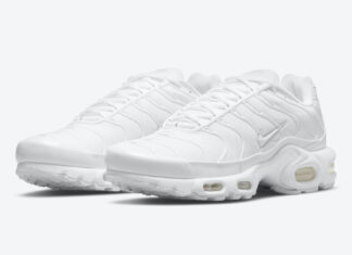 Nike Air Max Plus Triple White DM2362-100 Release Date Info