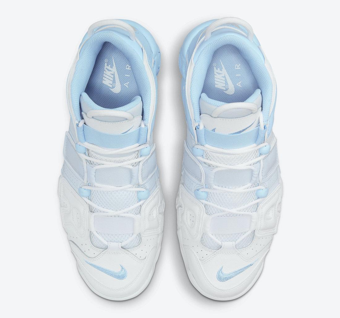 Nike Air More Uptempo Sky Blue DJ5159-400 Release Date Info