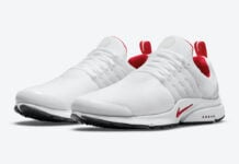 Nike Air Presto White Red DM8678-100 Release Date Info