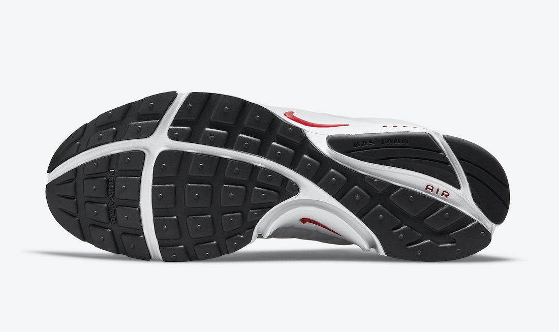 Nike Air Presto White Red DM8678-100 Release Date Info