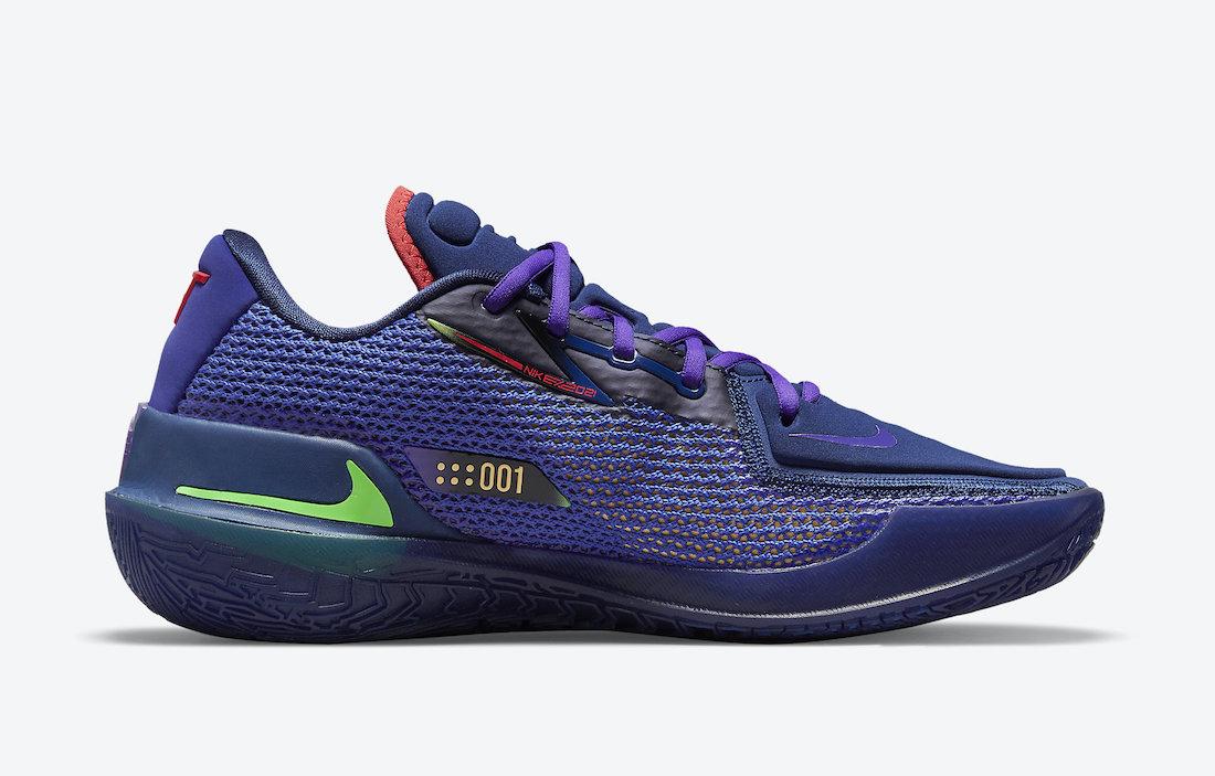 Nike Air Zoom GT Cut Navy Red Purple CZ0175-400 Release Date Info