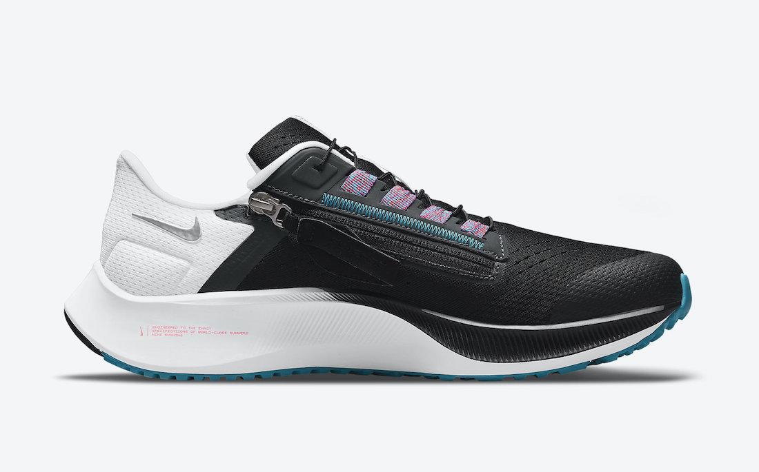 Nike Air Zoom Pegasus 38 FlyEase Chlorine Blue DA6674-002 Release Date Info