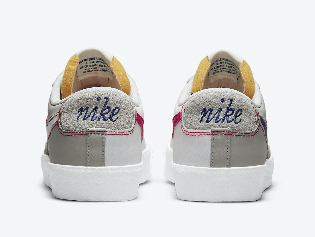 Nike Blazer Low Grey White DH4370-002 Release Date Info