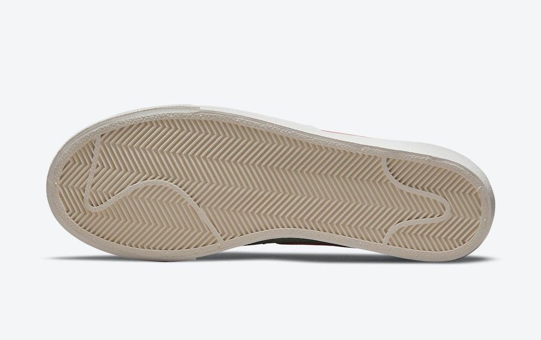 Nike Blazer Low Platform Seafoam DM9464-001 Release Date Info