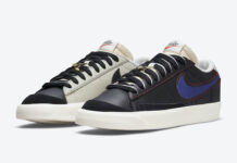 Nike Blazer Low Removable Swoosh Logos DH4370-001 Release Date Info