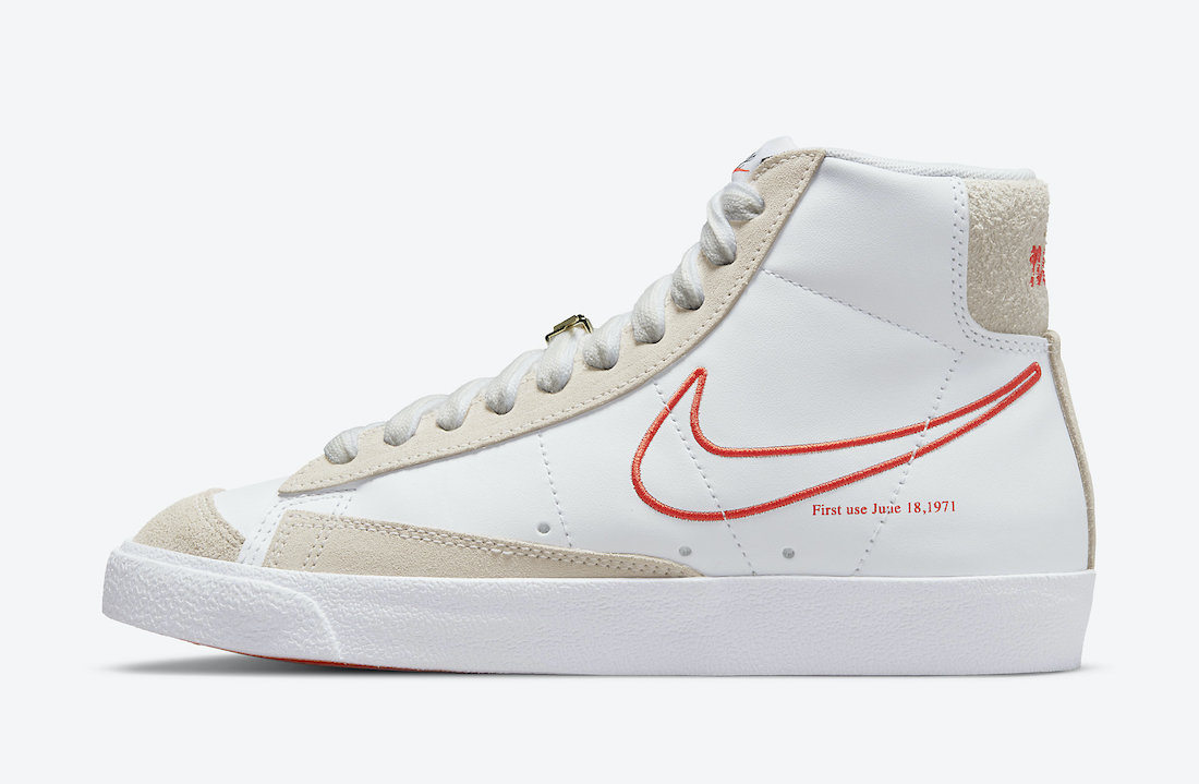 Nike Blazer Mid 77 SE First Use DH6757-100 Release Date Info