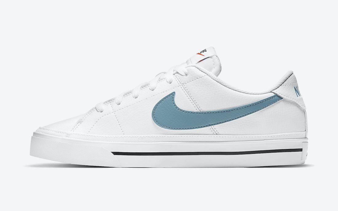 Nike Court Legacy Cerulean CU4150-104 Release Date Info