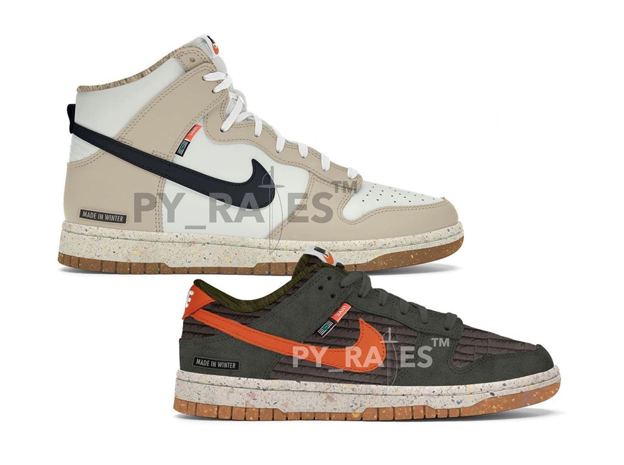 Nike Dunk High Dunk Low Next Nature Release Date Info