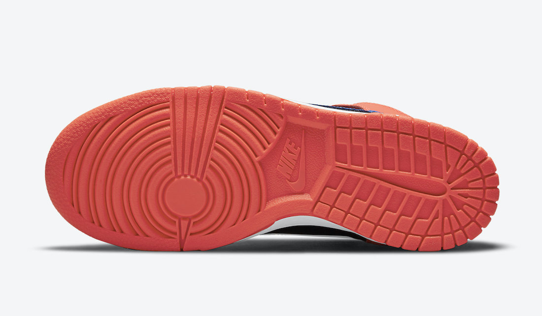 Nike Dunk High GS Black Orange Blue DB2179-001 Release Date Info