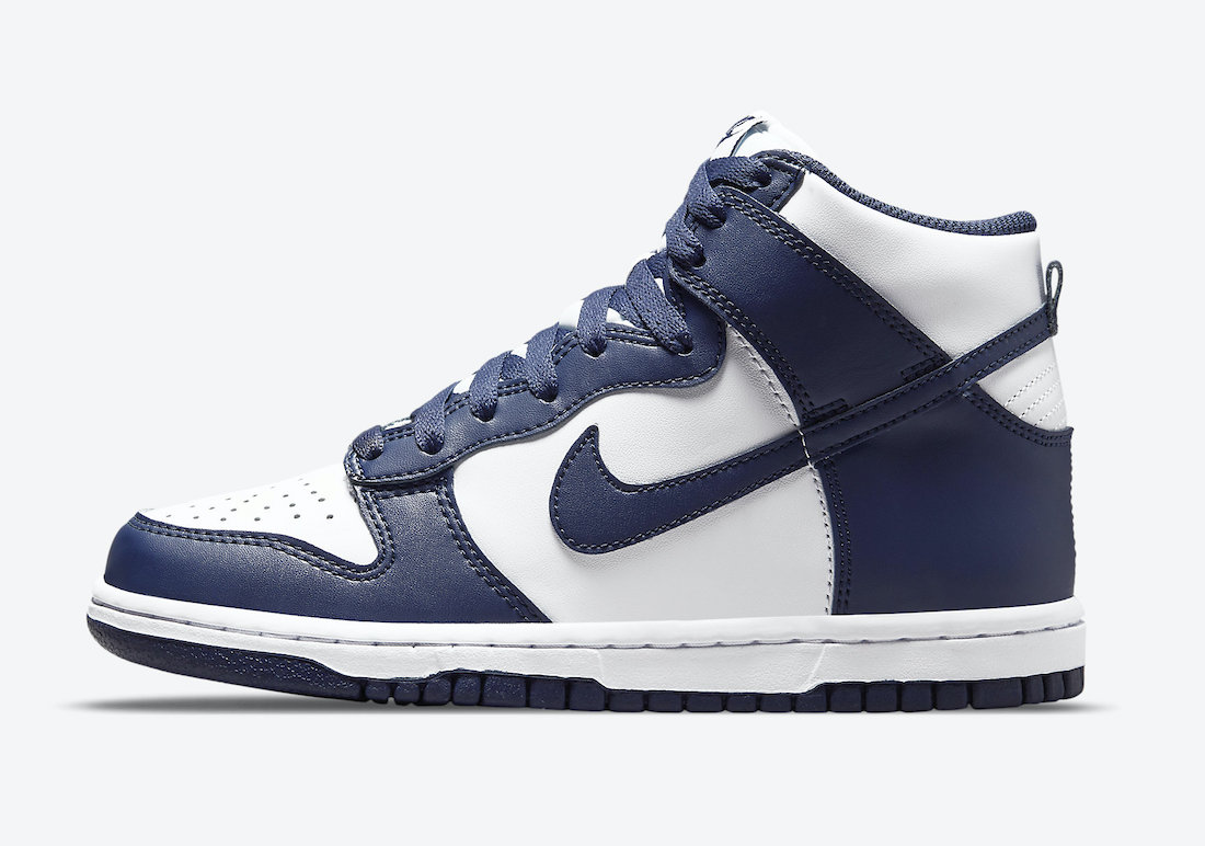 Nike Dunk High Navy White DB2179-104 Release Date Info
