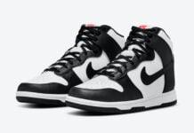 Nike Dunk High White Black DD1869-103 Release Date