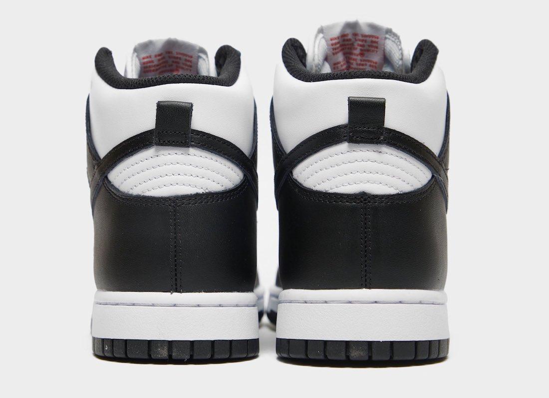Nike Dunk High White Black University Red DD1869-103 Release Date Info