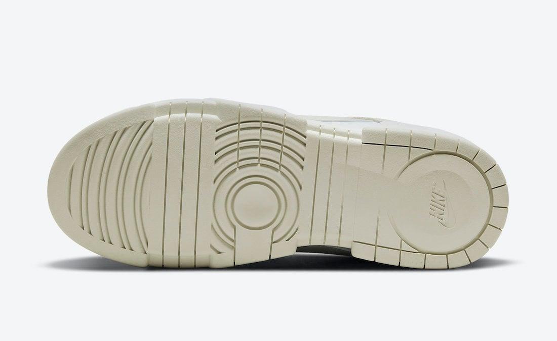 Nike Dunk Low Disrupt Sea Glass DM3063-100 Release Date Info