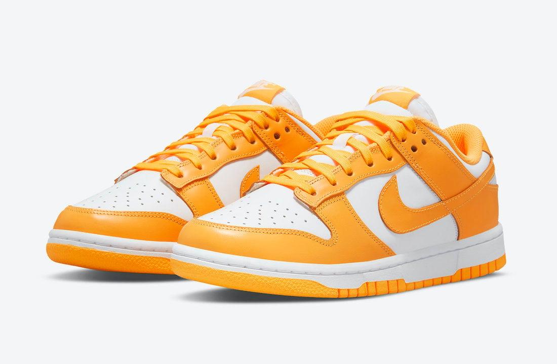 Nike Dunk Low Laser Orange WMNS DD1503-800 Release Date Info