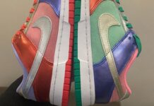 Nike Dunk Low Multi Metallic Mismatch
