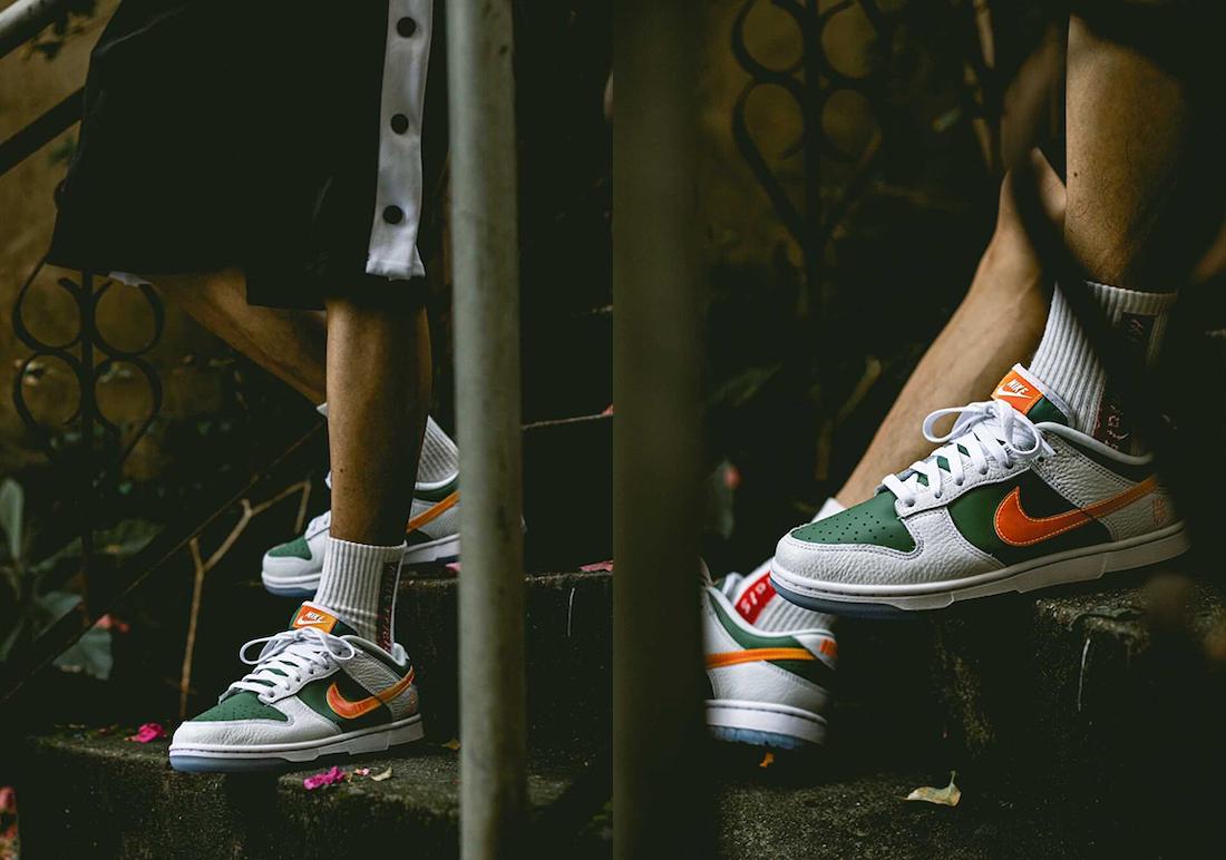 Nike Dunk Low NY vs NY DN2489-300 On-Feet