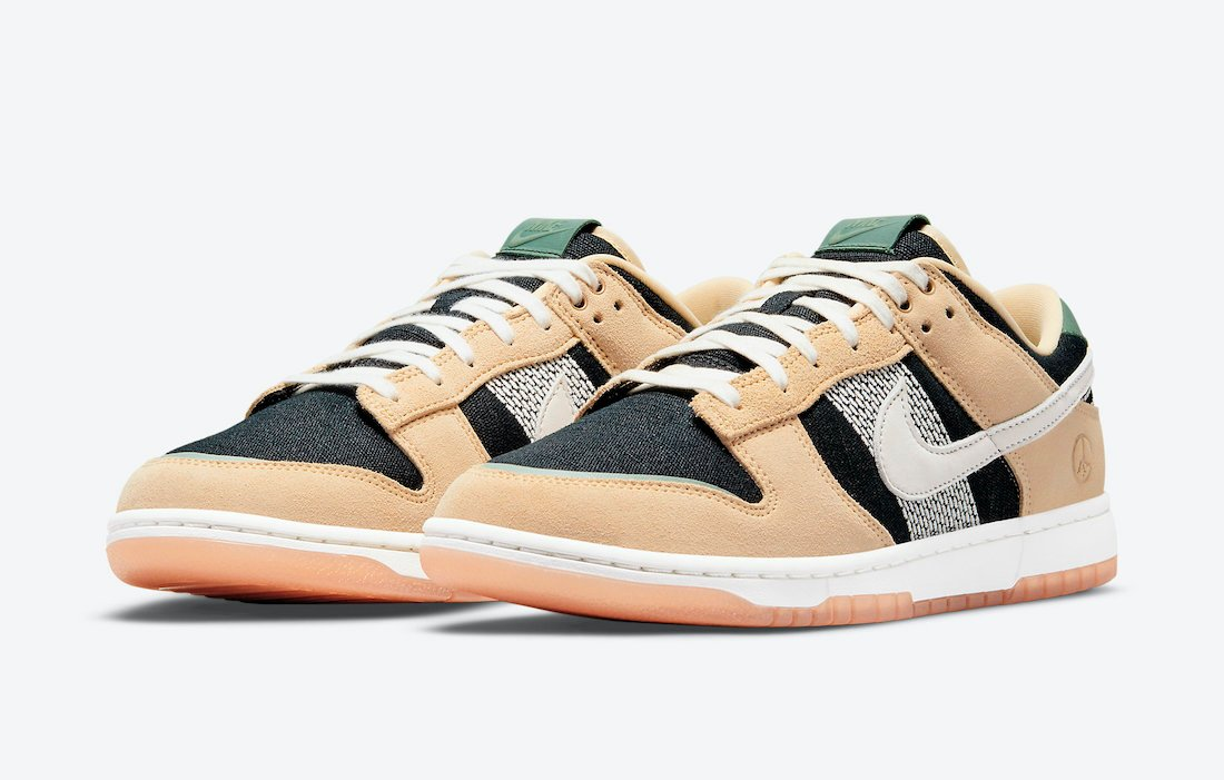 Nike Dunk Low Rooted in Peace Niwashi DJ4671-294 Release Date