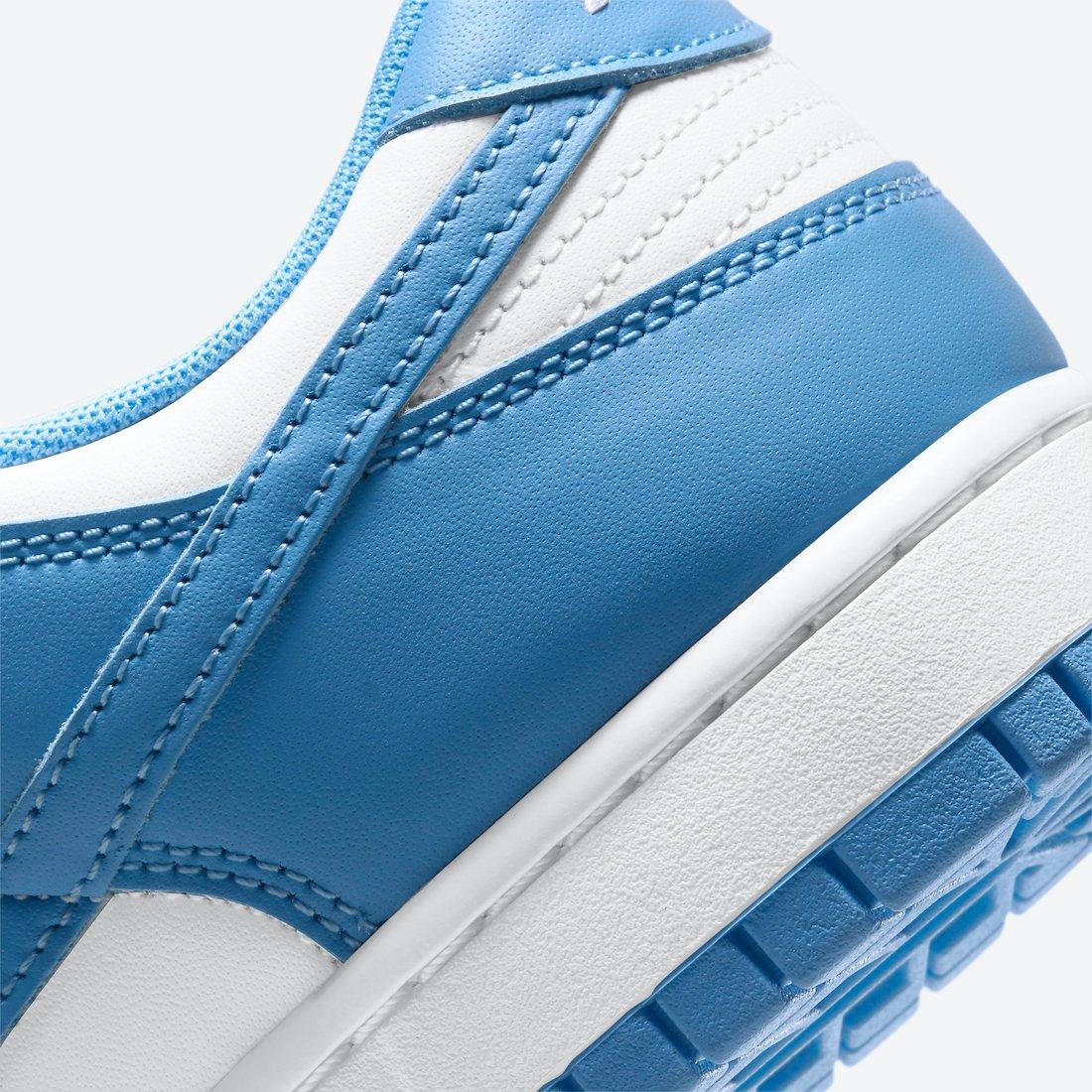 Nike Dunk Low University Blue DD1391-102 Release Info Price