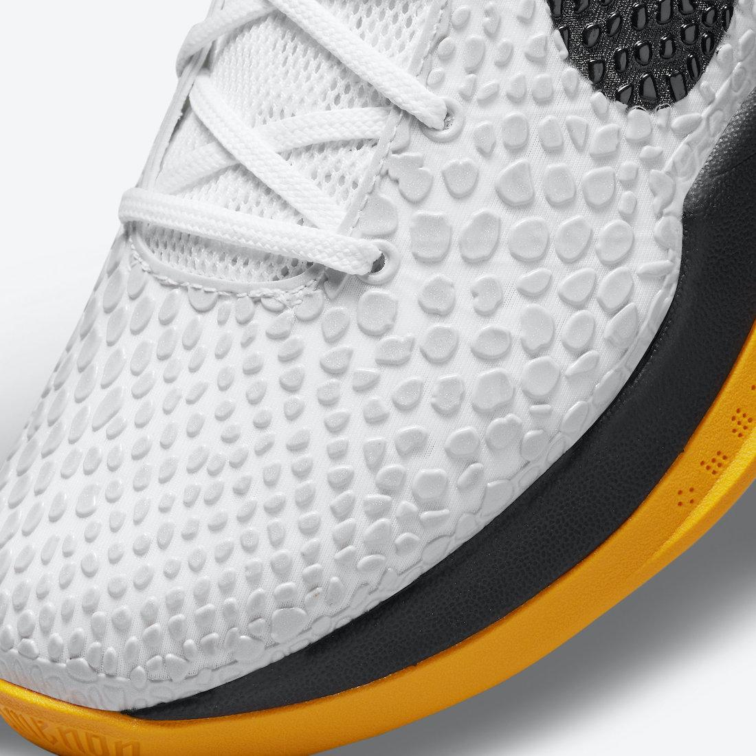 Nike Kobe 6 Protro POP White Del Sol CW2190-100 Release Date Info