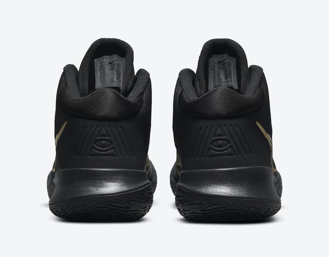 Nike Kyrie Flytrap 4 Black Metallic Gold CT1972-005 Release Date Info
