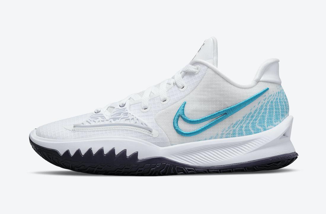 Nike Kyrie Low 4 White Laser Blue CW3985-100 Release Date Info