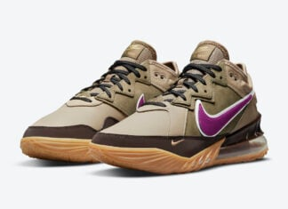 Nike LeBron 18 Low Viotech CW5635-200 Release Date