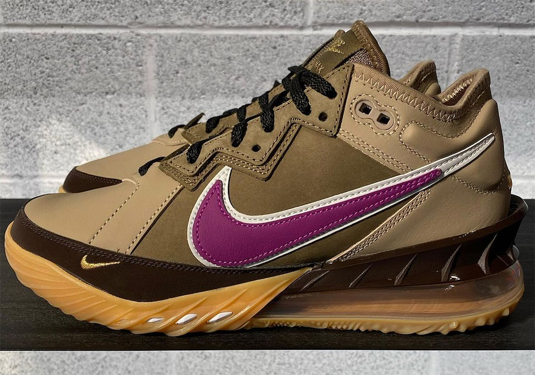 Nike LeBron 18 Low Viotech Release Date Info